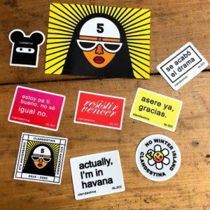 Pack de stickers